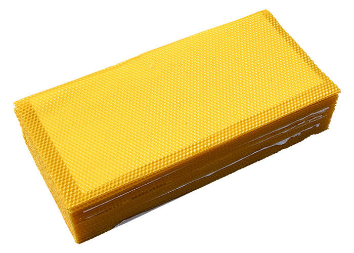 Grade B Beekeeping 110g Beeswax Foundation Sheet